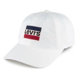 LEVI'S WHITE HAT